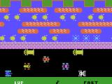 Frogger ColecoVision Title screen / set game options