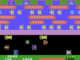 Frogger ColecoVision A frog crossing the road...