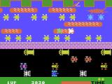 Frogger ColecoVision Can you rescue the female frog?