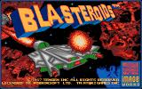 Blasteroids DOS Title screen (VGA)