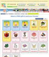 PetVille Browser Send gifts to friends
