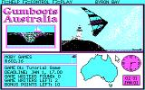 Gumboots Australia DOS The tutorial game needs you to find the game's developers.