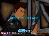 Time Crisis PlayStation Area 1 start
