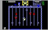Donkey Kong Junior Intellivision Move all of the keys to the top of the screen on the second level