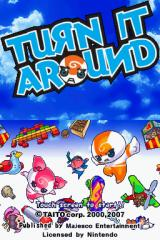Turn It Around Nintendo DS Title screen.