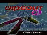 WipEout XL PlayStation Start screen
