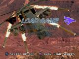 Thunderstrike 2 PlayStation Main menu