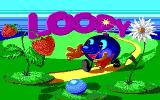Loopy DOS Title screen. (EGA)