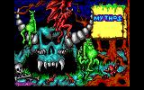 Mythos DOS Title screen (EGA)