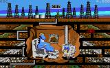 Oil's Well DOS One of the cutscenes (VGA 16 color)