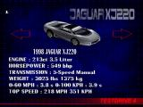 Test Drive 4 PlayStation Jaguar XJ220