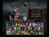 Mortal Kombat: Deception Xbox Main game character select screen.