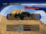 Test Drive: Off-Road 2 PlayStation Vehicle selection
