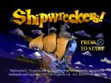 Shipwreckers! PlayStation Title screen