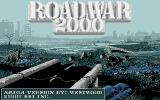Roadwar 2000 Amiga Title screen