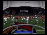 ESPN NFL Football Xbox Viewing the quarterback in a passing play.
