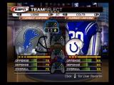 ESPN NFL Football Xbox Selecting teams for a quick match.