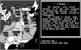 Romance of the Three Kingdoms DOS Examining the regional map (CGA)