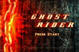 Ghost Rider Game Boy Advance Title screen.