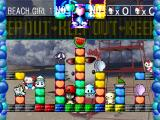 Hello Kitty's Cube Frenzy PlayStation Versus mode - Beach Girl stage