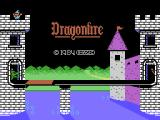 Dragonfire ColecoVision Title screen 2
