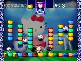 Hello Kitty's Cube Frenzy PlayStation Solo story mode - Soccer Stadium 2