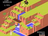 Congo Bongo ColecoVision The first level