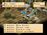 Harvest Moon: Back to Nature PlayStation Woodcutter