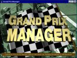 Grand Prix Manager Windows 3.x The startup screen