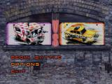 Twisted Metal PlayStation Multiplayer menu