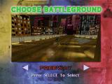 Twisted Metal PlayStation Battleground selection