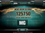 Whiplash: Slash and Burn Browser High Score entry