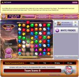 Bejeweled Blitz Browser It gave me a grey cube, dragging this to a colour destroys all gems of this color
