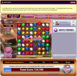 Bejeweled Blitz Browser The encourages you when you make chains