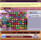 Bejeweled: Blitz Browser You get a medal for each 25,000 points