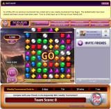 "Bejeweled: Blitz Browser For some reason you can already start playing before it says ""GO"""