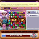 Bejeweled Blitz Browser Game over