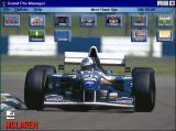 Grand Prix Manager Windows 3.x The main screen