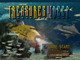 Treasures of the Deep PlayStation Main menu