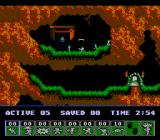 Lemmings NES First level
