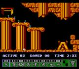 Lemmings NES Nice egyptian level