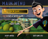Meet the Robinsons Windows Main menu