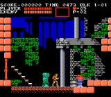 Castlevania III: Dracula's Curse  NES Starting the game