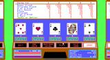 4 Queens Computer Casino DOS Video poker