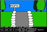 Time Zone Apple II Well, they say that all roads lead to Rome.