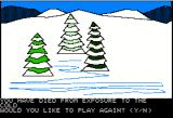 Time Zone Apple II Died from exposure to the cold. I knew I should have brought those long johns along on my adventure.