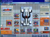 Grand Prix Manager Windows 3.x The car building  screen insided