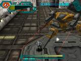 Silent Bomber PlayStation Jutah fighting the robot spider.