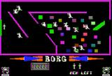 Borg Apple II Game screen
