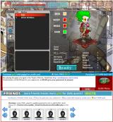 Sacred Seasons Browser Character customization